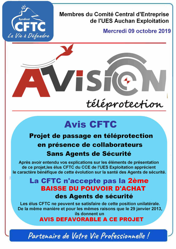 tract AVISION TELEPROTECTION