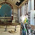 Labenne-Océan, chapelle Sainte Thérèse, intérieur, choeur