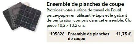 p115 planches de coupe