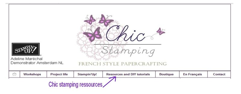 chic stamping ressources