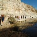 Marche dans le Wadi Neqarot
