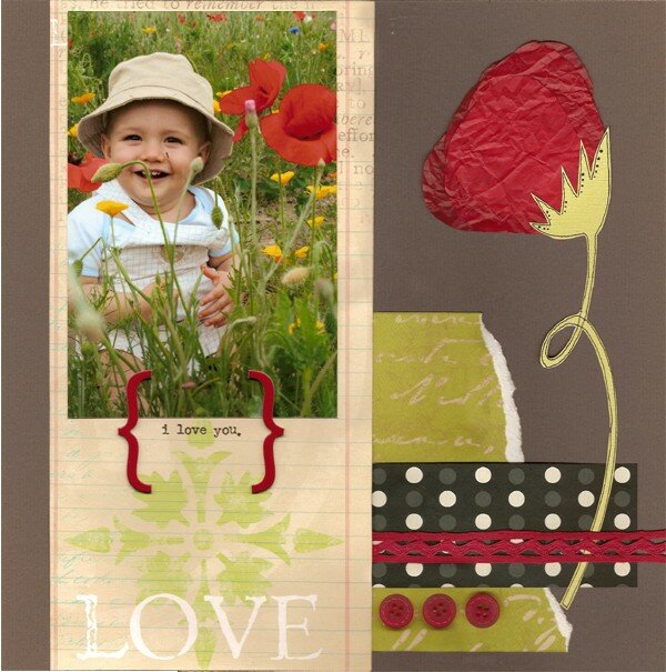 i love you (coquelicot)