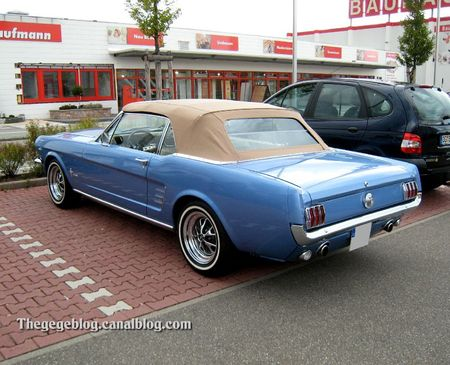Ford mustang convertible 289 (Offenbourg) 02