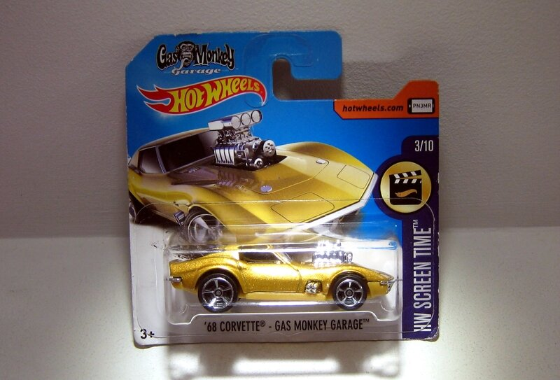 Chevrolet Corvette de 1968 (Gas Monkey garage) Hotwheels 2017)