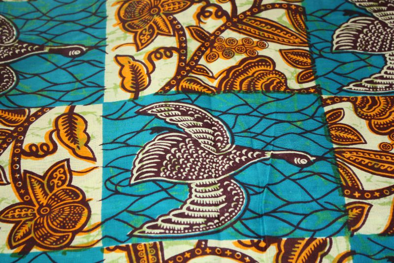 Wax oies patchwork