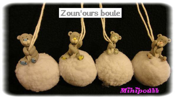 4 zoun'ours boule