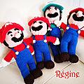Mario et luigi de régine