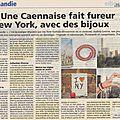 A new york: la révélation de l'évidence normande...