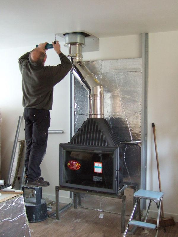 Ze cadeau de no l notre pavillon gagny - Faire une cheminee en cuisine ...