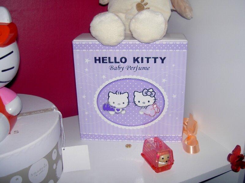 Coffret Parfum Bébé Hello Kitty Photo De Ma Collection Hello Kitty