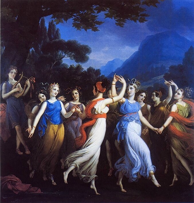 The Dance of the Muses Joseph Paelinck BD