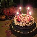 Victoria sponge cake chocolat-menthe