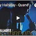 Quand revient la nuit - johnny hallyday (partition - sheet music)