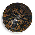 A russet-splashed black-glazed 'partridge feather' bowl, Northern Song-Jin dynasty