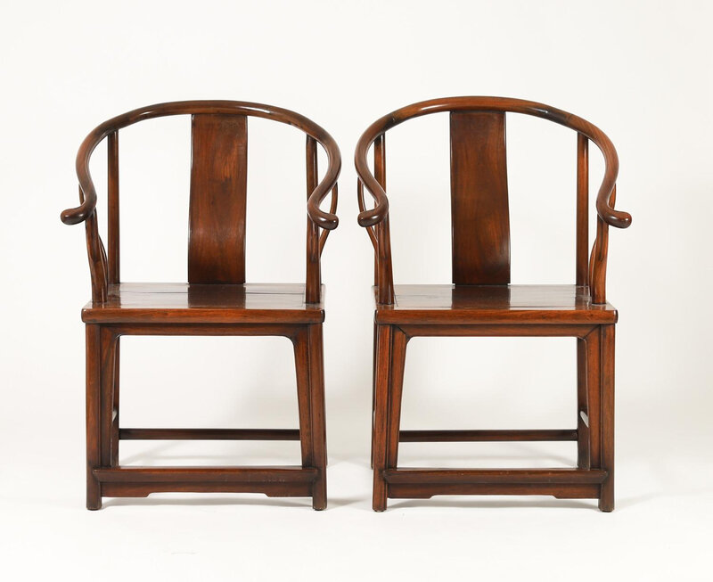 Pair_of_Chinese_Huanghuali_and_Hardwood_Horseshoe-back_Armchairs_Qing_Dynas369_2