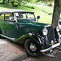 MERCEDES 170 W136 Offener Tourenwagen Polizei Baden Baden (1)