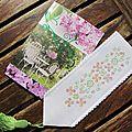 Marque-pages de printemps