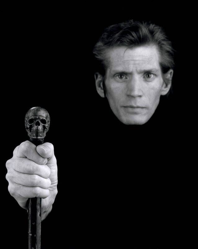 Robert-Mapplethorpe-Self-Portrait-1988