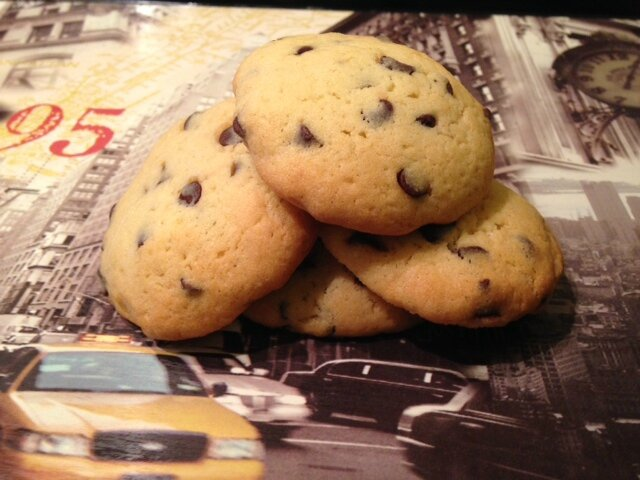 recette enfant cookies pepites chocolat