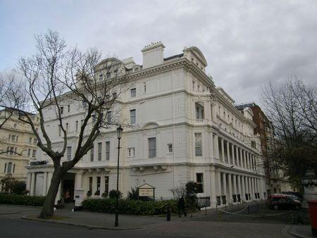 Columbia facade