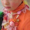 collier de carnaval de Lilas