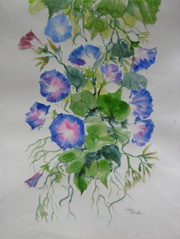 Flowers - Aquarelle