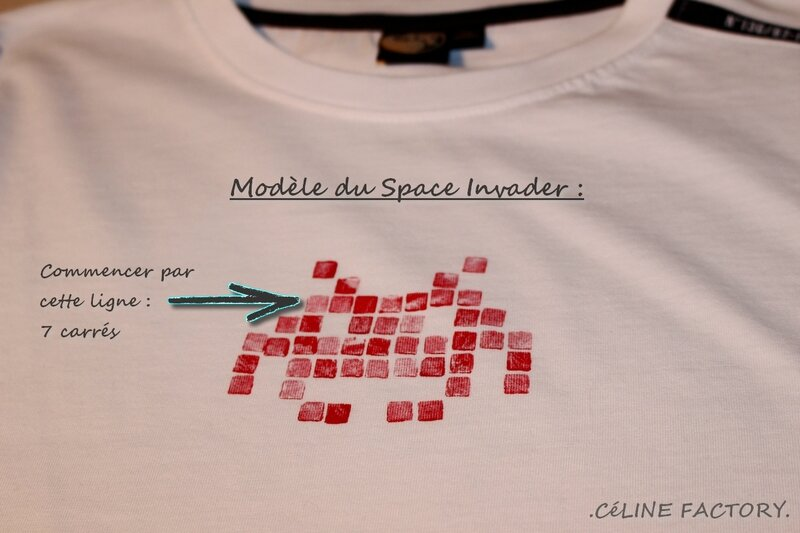 T-shirt Space Invaders 5