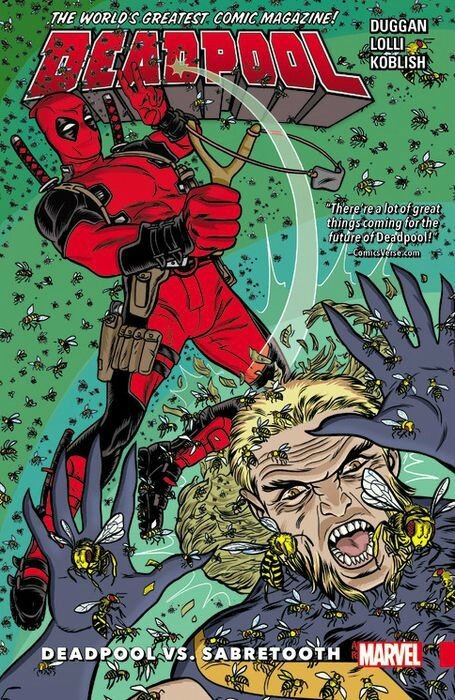deadpool world's greatest vol 3 deadpool vs sabretooth TP