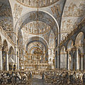 Auction record for a drawing by canaletto