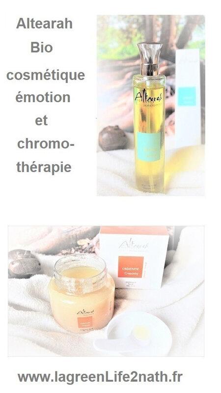 Altearah Bio, cosmétique émotion et chromothérapie
