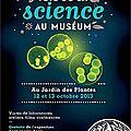 Le club-sciences avec les chercheurs du muséum