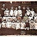 Trelon - l'ecole maternelle en 1950 ***