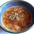 Soupe miso aux graines germées