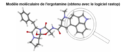 Photo ergotamine