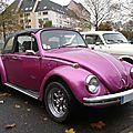 Volkswagen coccinelle vw 1300 cabriolet 1967