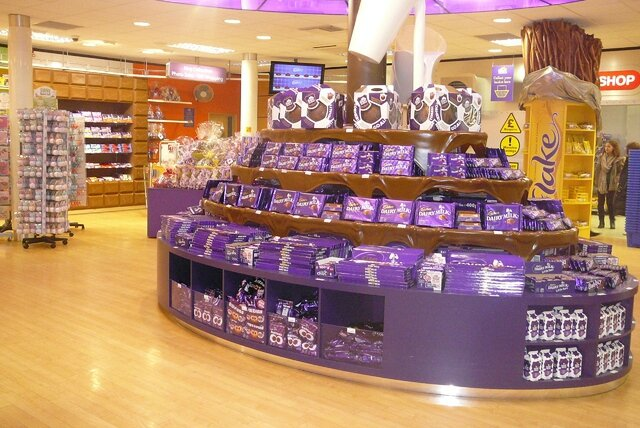 Boutique cadbury world