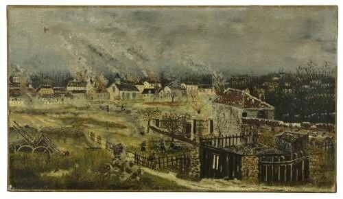 Rousseau, bataille de Champigny