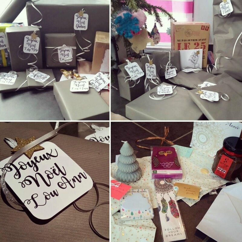 Etiquettes cadeaux - Dans la bulle de Misslilou