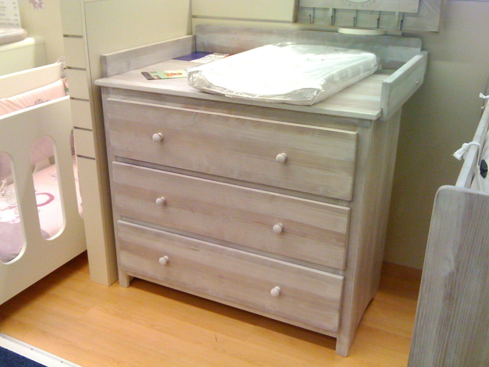 Commode Malys Lin brun