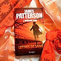 Lettres de sang, james patterson & marshall karp