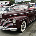 Ford super deluxe convertible 1946
