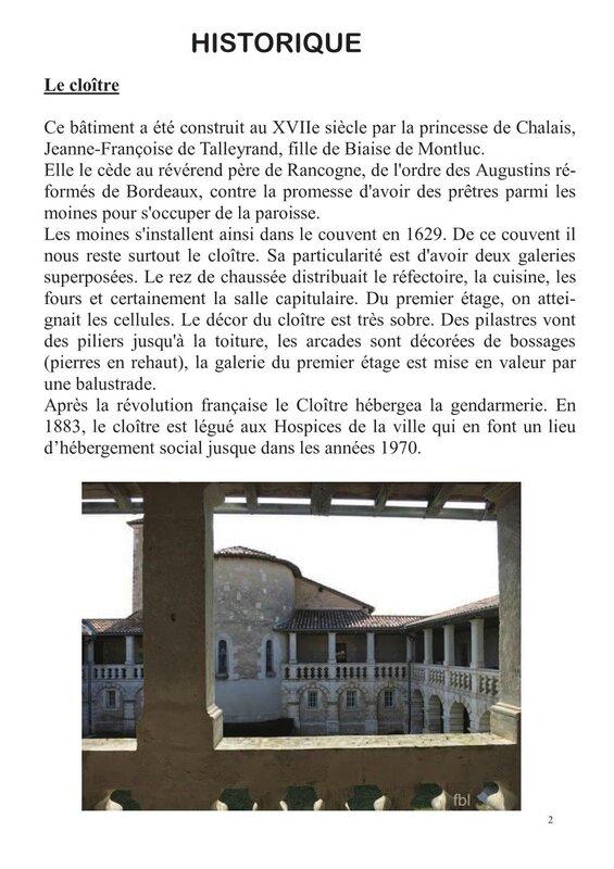 Dossier de presse Chalais 2