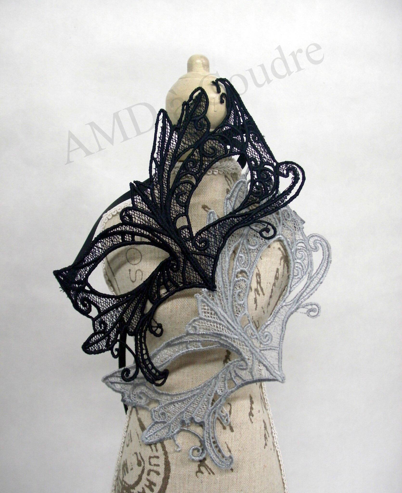 masque vénitien broderie, dentelle, lace amd a coudre (3)