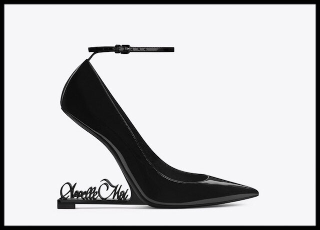 yves saint laurent escarpins opyum 1