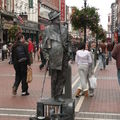 Statue vivante de James Joyce