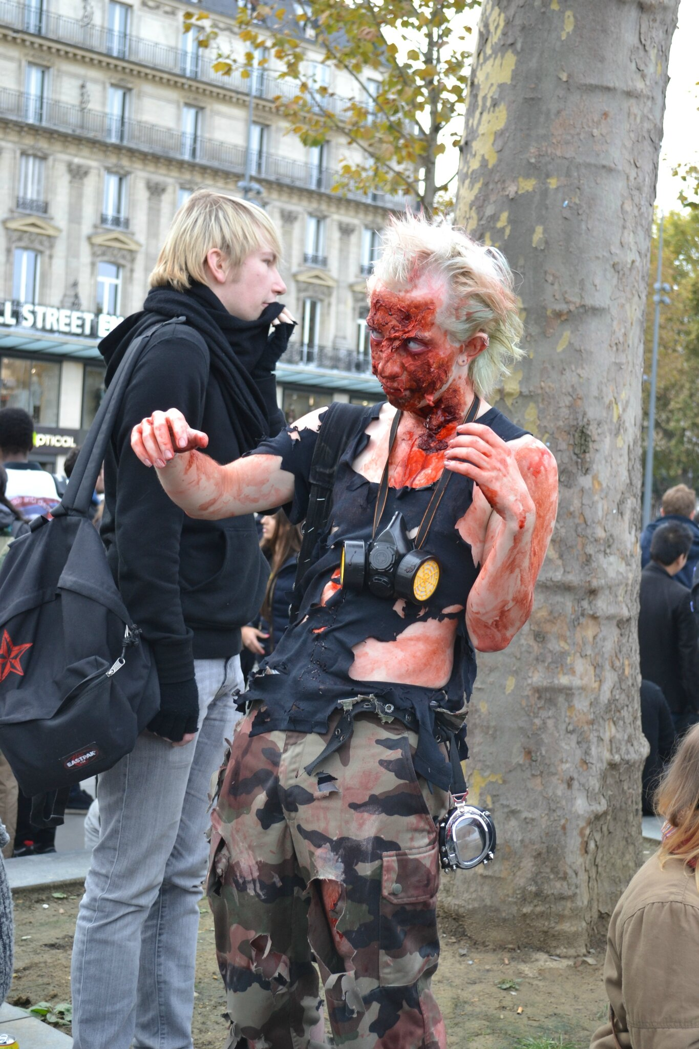 Zombie Walk Paris 2014 by Nico