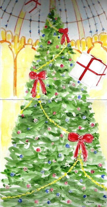 46Sapin de Noël aux Galeries Laf