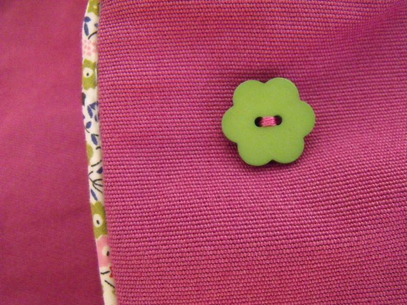 BP Zoé bouton fleur