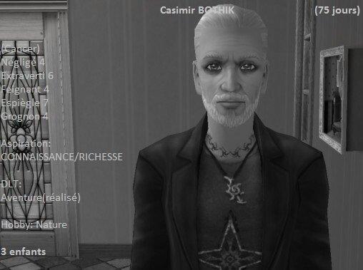 Casimir Bothik (75 jours)