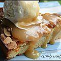 Gâteau pommes, amandes & cannelle